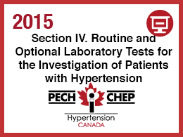 Section IV: Lab Tests