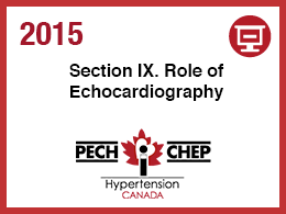 Section IX: Echocardiography