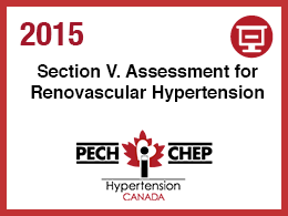 Section V: Renovascular Hypertension