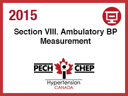 Section VIII: Ambulatory Measurement